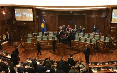 Koronavirusi edhe në Kuvendin e Kosovës, infektohen 4 deputetë